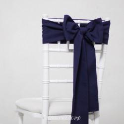Бант на стул #0021 - Аренда бантов на свадьбу