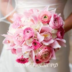 Свадебный букет невесты #0002