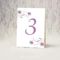 Купить номерки на столы #0024 ( Номерация столов )