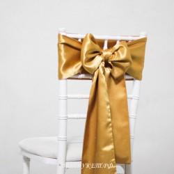 Бант на стул #0024 - Аренда бантов на свадьбу