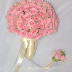 Свадебный букет невесты #0118