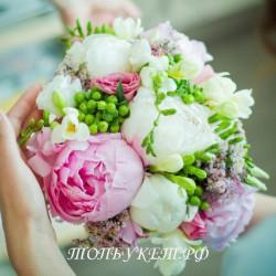 Свадебный букет невесты #0045