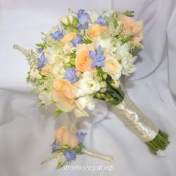 Свадебный букет невесты #0122