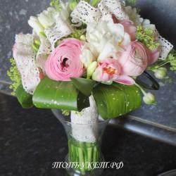 Свадебный букет невесты #0124