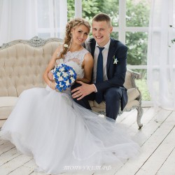 Свадебный букет невесты #0120