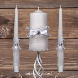 Купить свадебные свечи №0001 ( Семейный очаг )