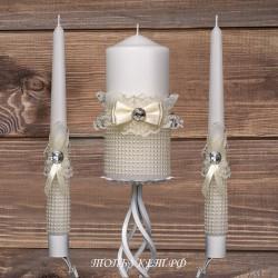 Купить свадебные свечи №0002 ( Семейный очаг )