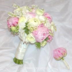 Свадебный букет невесты #0126