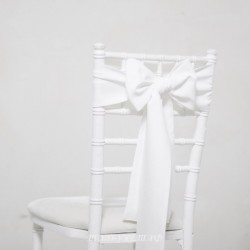 Бант на стул #0026 - Аренда бантов на свадьбу