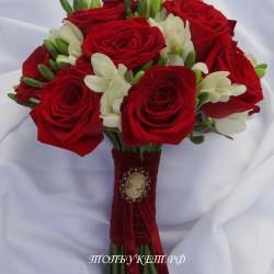 Свадебный букет невесты #0132