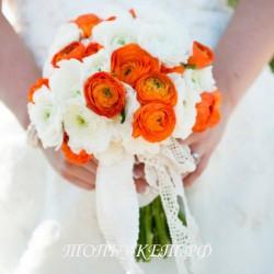 Свадебный букет невесты #0012