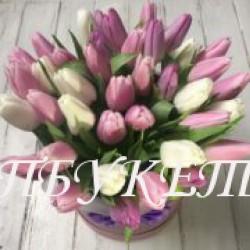 Цветы в корзине - доставка в СПБ #0008